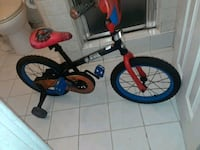 toddler's red and black bicycle Lynwood, 90262