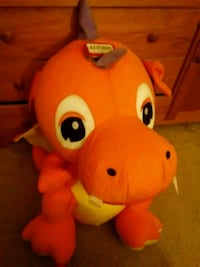 Orange and yellow dragon plush toy Fairfax, 22031