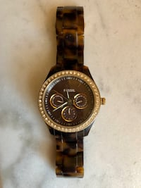 Fossil Tortoise Shell Watch - needs battery Philadelphia, 19146