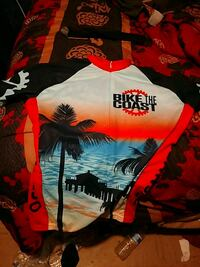 Official professional  bicycle shirt Riverside, 92507