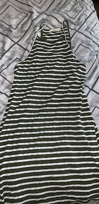 green&white striped dress Las Vegas, 89123