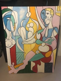 Picasso copy canvas picture  Toronto, M9B 3C5