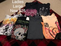 Ladies large T-shirts Jacksonville, 32223