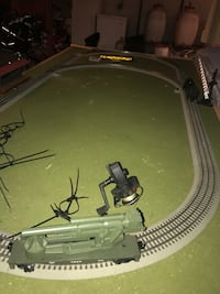 Train table with controls approx 4 by 6 Bayport, 11705