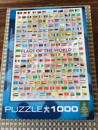 Eurographics Flags of the World 1000pc puzzle