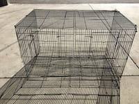 Black metal framed pet cage Warminster, L3V 0R5