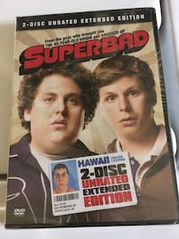 Superbad DVD Movie- Brand New - 2 Disc Unrated Extended Edition Movie