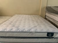 One sale New.  New Queen Serta perfect sleeper cool gel hybrid luxury firm mattress and box spring  Altamonte Springs, 32714
