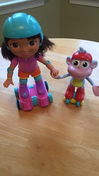 Dora The Explorer Skate and Spin Dora and Boots! $124 on other major retailer. Selling for the rock bottom price of $20 174 mi