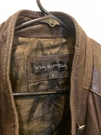 Via Spiga leather jacket Washington, 20011