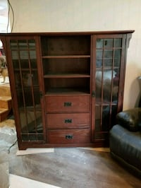 wooden cabinet with shelf firm price Norfolk, 23518