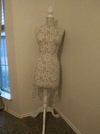 Laced Dress Form or Mannequin or Bust