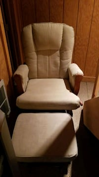 Rocking gliding chair with rocking ottoman Howell, 07731