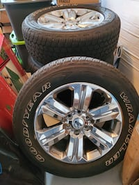 Brand new Ford Wheels and Tires 275/55R20 Stone Ridge, 20105