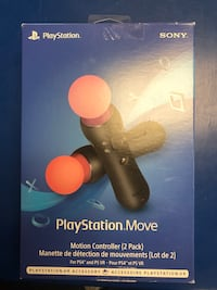 PS4 move controllers  Mississauga, L4Z 1S3