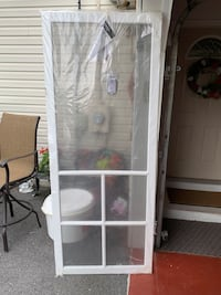 "New 32"" vinyl screen door  Waynesboro, 17268"