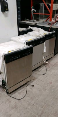 Stainless steel dishwashers on sale! Like new! $150