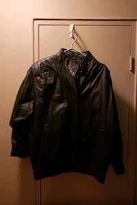 Ladies large leather black jacket London, N6H 1T3