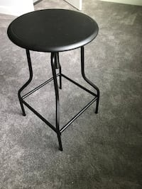 Used Target Industrial Metal Adjustable Bar Stools Set