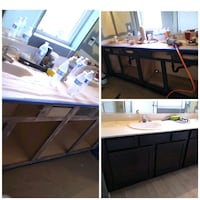 Home remodel and cabinet refinishing North Las Vegas