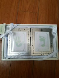 Hand and foot print photo frame Langley, V2Y 3G1