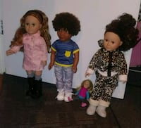 My Life As (Dolls) , clothes n furniture  Baltimore, 21230
