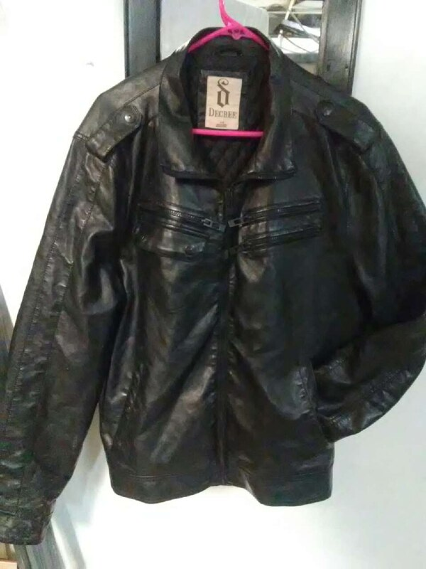 Used Decree Leather Jacket For Sale In Oroville Letgo