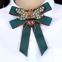 Ribbon Beads Bee Bow Tie Brooch Corsage Dress Shirts Jewelry Port Richey, 34668