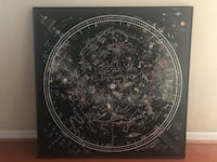 ASTROLOGY CHART METAL POSTER LARGE Tampa, 33609