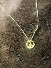 Fossil Peace Sign Necklace West Allis