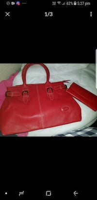 red leather tote bag screenshot Granville, 2142