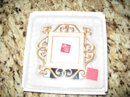 RUSS pewter photo frame