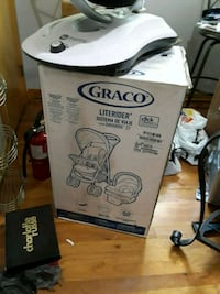 Brand new!!! Stroller gray & red  Des Moines, 50310