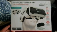 white and black VR Box headset box Mississauga, L5E 2L6