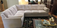 Cream sectional couch  Franklin, 45005