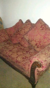 red and brown floral sofa Fort Washington, 20744