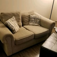 brown fabric 2-seat sofa Charlotte, 28210