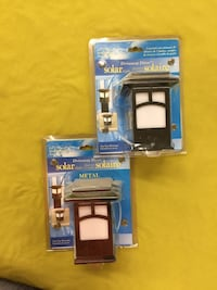 Solar outdoor post lamps 2 in total Toronto, M9A 1H4