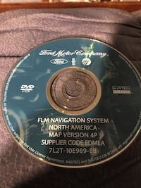Ford and Lincoln Navigation Disc