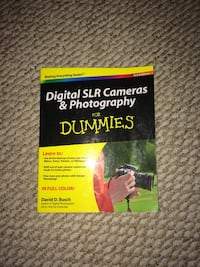 Digital SLR Cameras & Photography for Dummies book Prince George, V2K 5A7