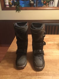 Youth dirt bike riding boots, $50. North Brookfield, 01535