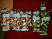 (11 Bags) Camo Military Treat Gift Container Lot P Dover, 33527