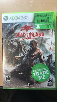 Dead island game for Xbox 360 Cambridge, N1R 6M6