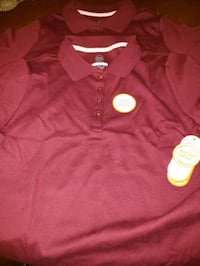 Girls maroon uniform shirts $5 Mercedes, 78570