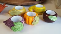 Partylite-5 pc Fall/Harvest candle holder 362 mi