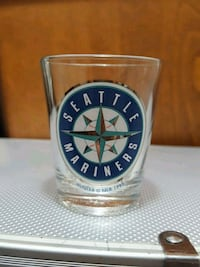 Seattle Mariners shot glass (1993) Victoria, V9A 2Y9