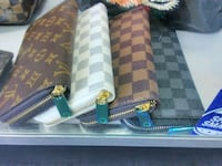 two brown and blue leather wallets Sacramento, 95842