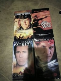 Classic Action VHS Movies 289 mi