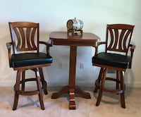 Bar chairs & table