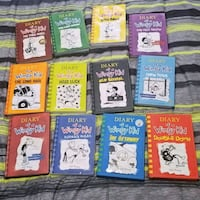 Diary of a Wimpy Kid - 12 book set Burlington, L7M 1Y1